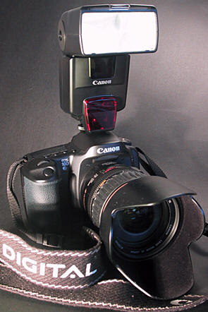 My Canon EOS 10D camera equipment.